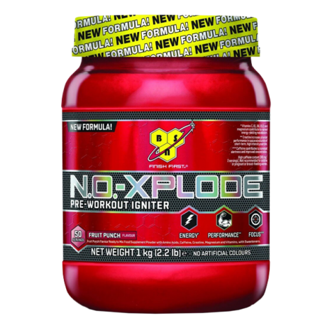 N.O. Xplode Pre-Workout Igniter (600g) - BSN