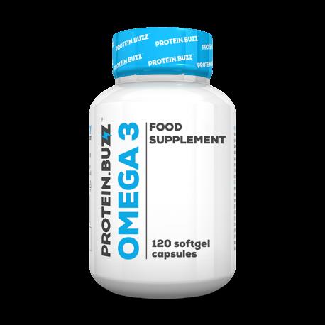 Omega 3 (120 Caps) - ProteinBuzz