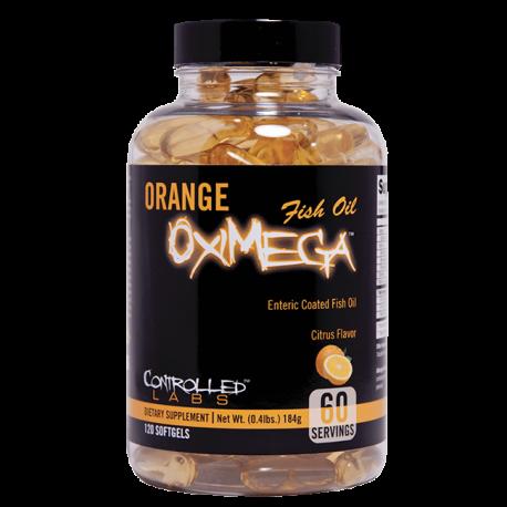 Orange OxiMega Fish Oil - Controlled Labs