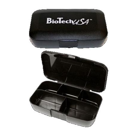 Pill Box black - Biotech USA