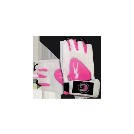 Pink Fit Handschuhe weiß-pink - Biotech USA