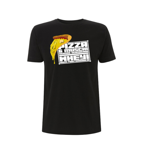 Pizza und Muschi T-Shirt - Massewear