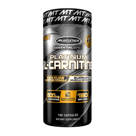 Platinum Pure L-Carnitine - 180 caps - Muscel Tech