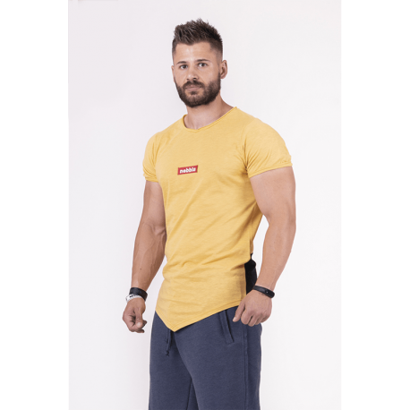 Red Label T-Shirt 142 Mustard - Nebbia