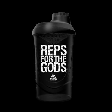 Reps for the Gods Shaker Black/White (600ml) - Gods Rage