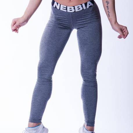 Scrunch butt leggings 222 Grey - Nebbia