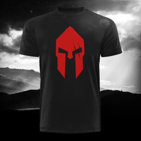 Spartan Black Long Tee – Gods Rage