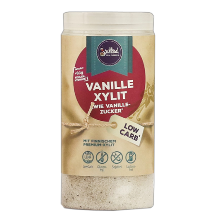 Vanille Xylit 125g - Soulfood LowCarberia