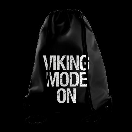 Viking Mode On Gymbag Black - Gods Rage