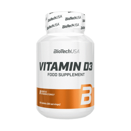 Vitamin D3 50mcg - Biotech USA