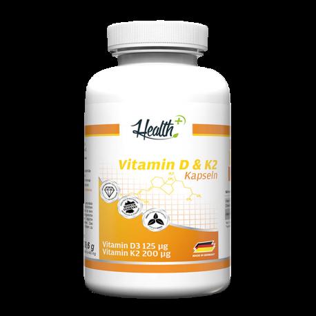 Vitamin D3 & K2 Health+ - Zec+