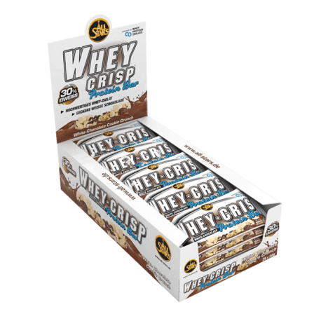 Whey-Crisp Protein Bar 25x50g - All Stars