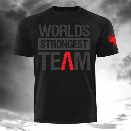 World`s Strongest Team T-Shirt - Gods Rage