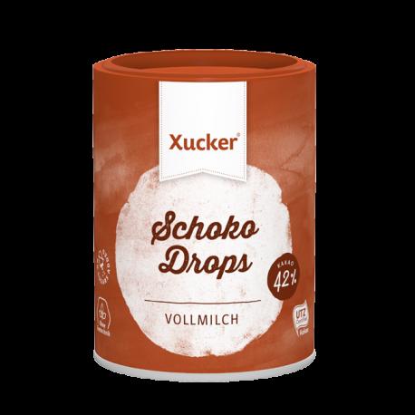 Xylit Schoko Drops Vollmilch (200g) - Xucker