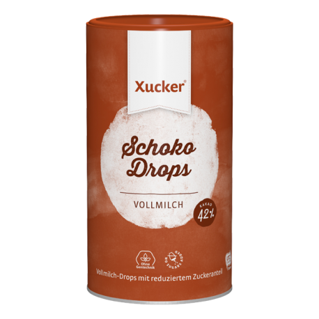 Xylit Schoko Drops Vollmilch (750g) - Xucker